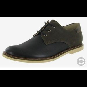 78b8e2f2e45716 Lacoste Sherbrooke Oxford leather canvas NEW SZ 11